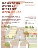Downtown Overlay District Open House